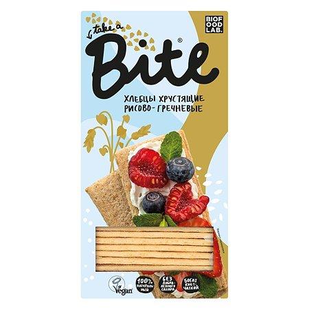 Хлебцы Take a Bite хрустящие рисово-гречневые 150г