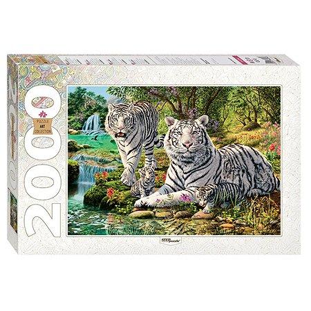 Пазл Step Puzzle Сколько тигров? 2000 элементов 84034