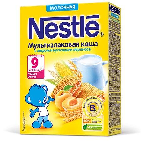 Каша Nestle молочная мед-абрикос 220г с 9месяцев