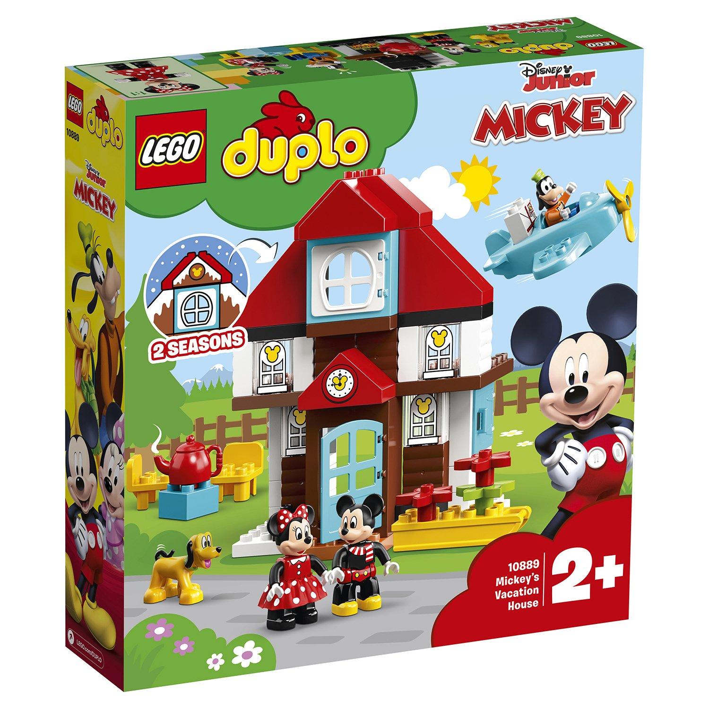 Конструктор lego duplo disney летний домик микки 10889