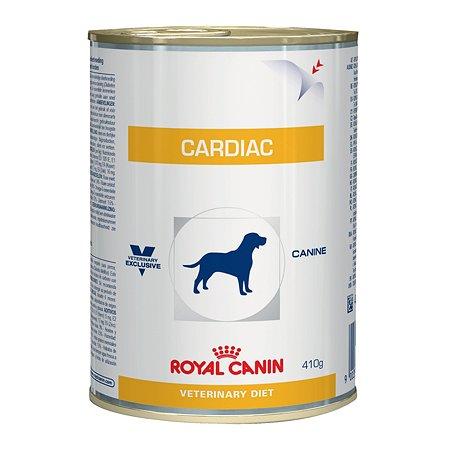 Корм для собак ROYAL CANIN Cardiac при сердечной недостаточности консервированный 410г