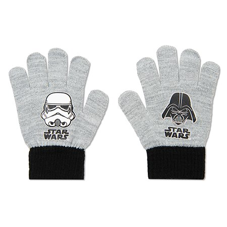 Перчатки Star Wars серые