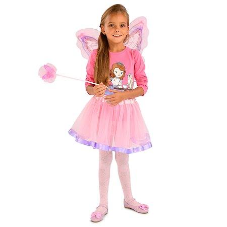 Костюм карнавальный EVERGREAT Фея Розовый SW-8020