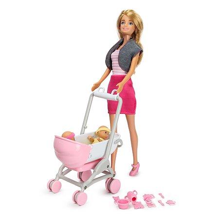Набор Demi Star с куклой модельной и близнецами 99127