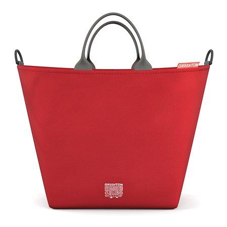 Сумка Greentom Shopping Bag Красный