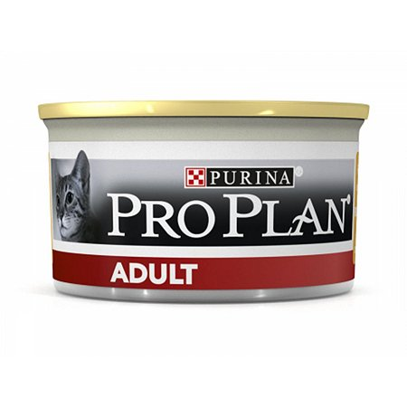 Корм влажный для кошек PROPLAN 85г курица консервированный