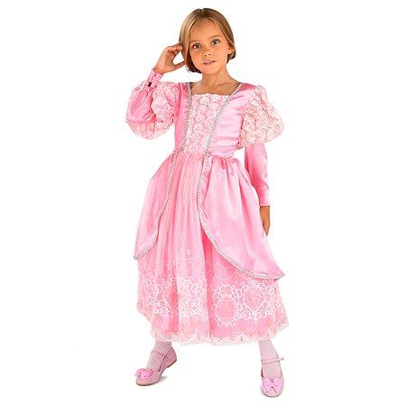 Костюм карнавальный EVERGREAT Принцесса Розовый DN-005