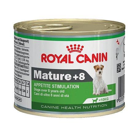 Корм для собак ROYAL CANIN Mature 8+ пожилых консервированный 195г
