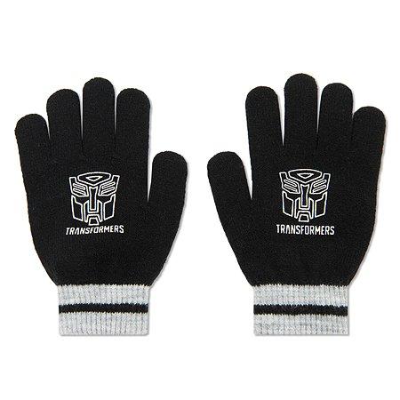 Перчатки Transformers чёрные