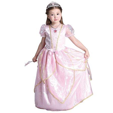 Костюм карнавальный EVERGREAT Принцесса Розовый FD-1642
