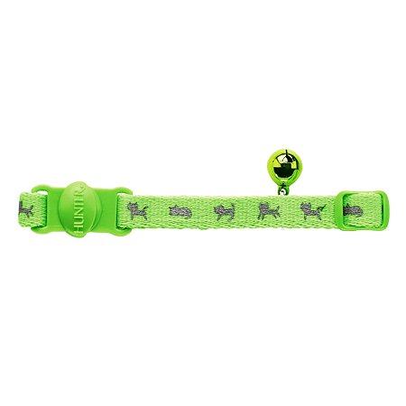 Ошейник для кошек Hunter Smart Neon Зеленый