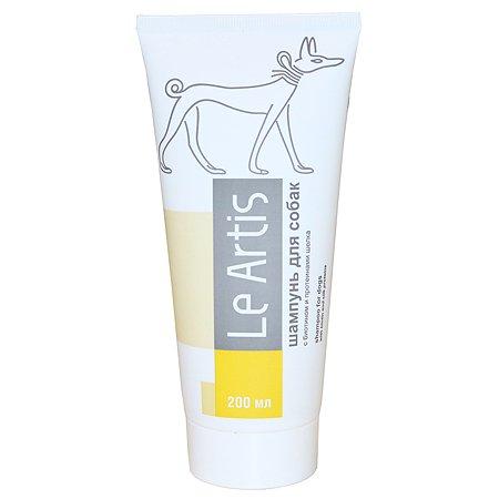 Шампунь для собак Le Artis с биотином и протеинами шелка 200мл