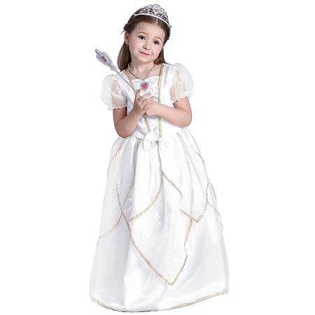 Костюм карнавальный EVERGREAT Принцесса Белый FD-1643