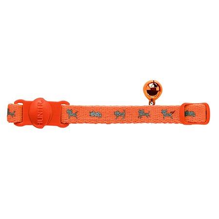 Ошейник для кошек Hunter Smart Neon Оранжевый