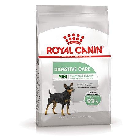 Корм для собак ROYAL CANIN Mini Digestive Care мелких пород с чувствительным пищеварением 3кг