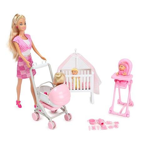 Набор Demi Star Мама и близнецы с модельной куклой 99204