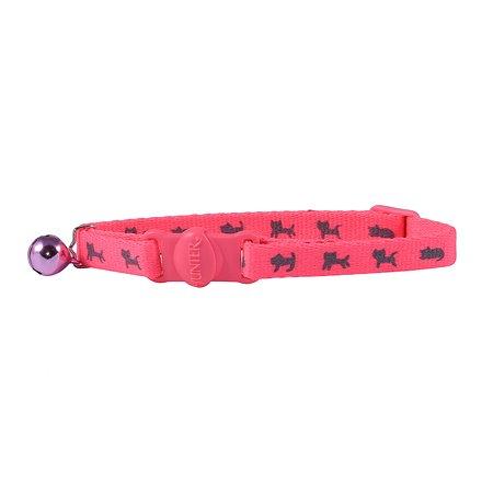 Ошейник для кошек Hunter Smart Neon Розовый