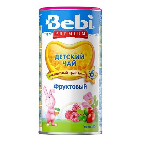 Чай Колинска Bebi Premium фруктовый гранулированный 200г с 6месяцев