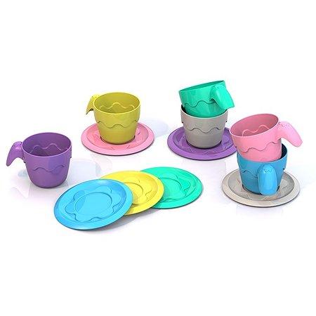 Посуда Нордпласт ШКОДА (6 чашек+6 блюдец)