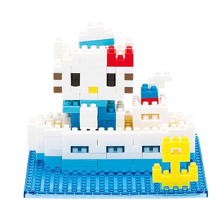 Конструктор Nanoblock Hello Kitty в круизе