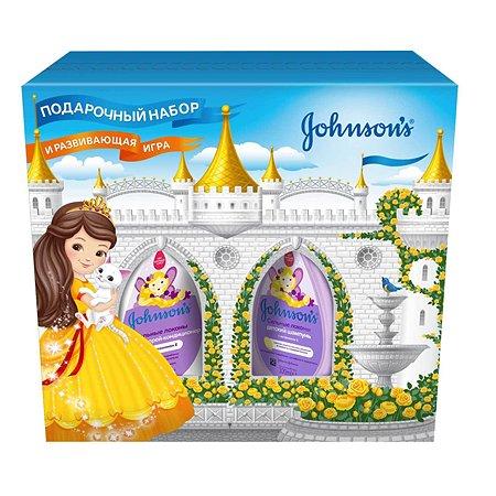 Набор подарочный Johnson's Сильные локоны шампунь 300мл+спрей-кондиционер 200мл