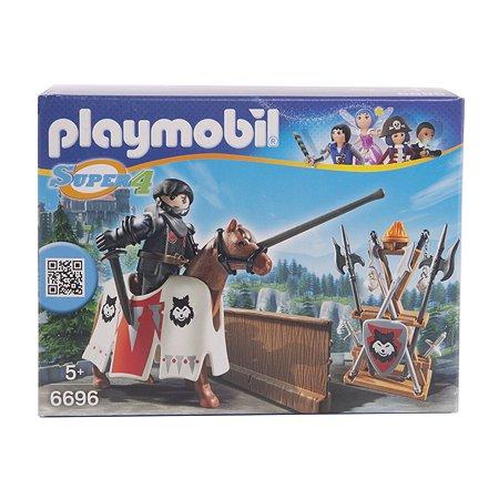 Конструктор Playmobil Супер4 Рыцарь Райпан Стражник Черного Барона