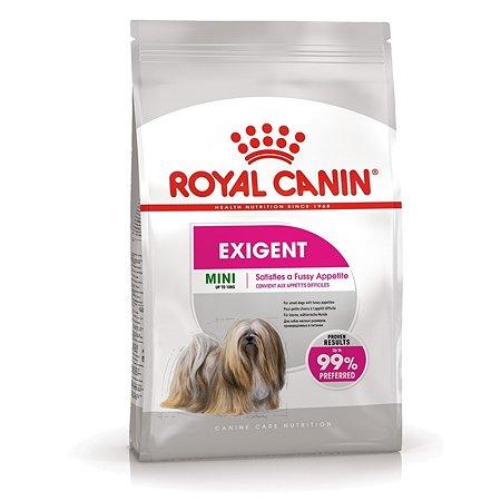 Корм для собак ROYAL CANIN Mini Exigent мелких пород привередливых в питании 1кг