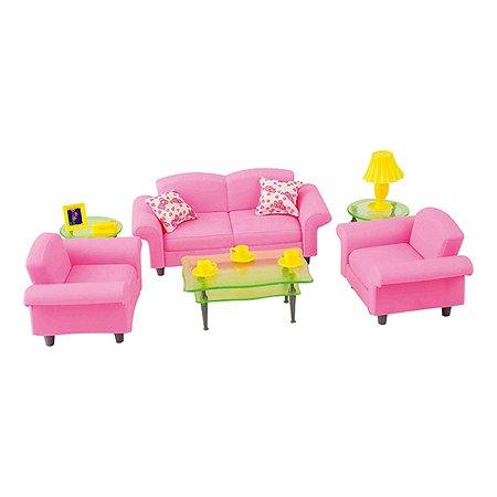 Мебель кукольная Dolly Toy Гостиная люкс