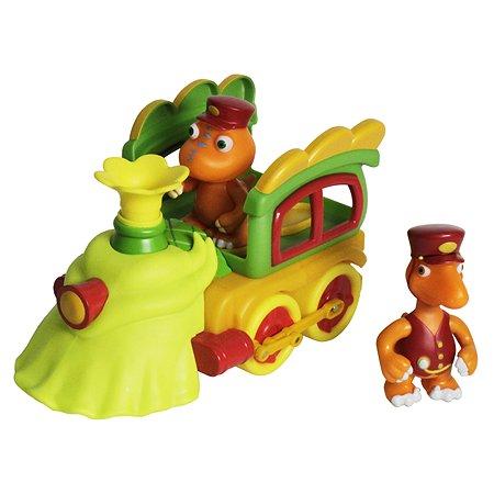 Набор Поезд динозавров Бадди и Кондуктор