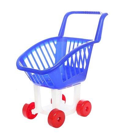 Тележка Пластмастер детская для супермаркета