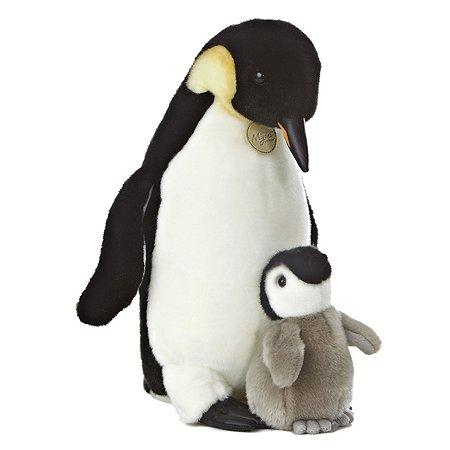 Мягкая игрушка Aurora Пингвин с пингвиненком(20767A)