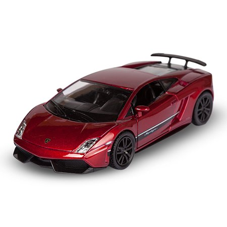 Машина Mobicaro Lamborghini Gallardo 1:32 Красный металлик