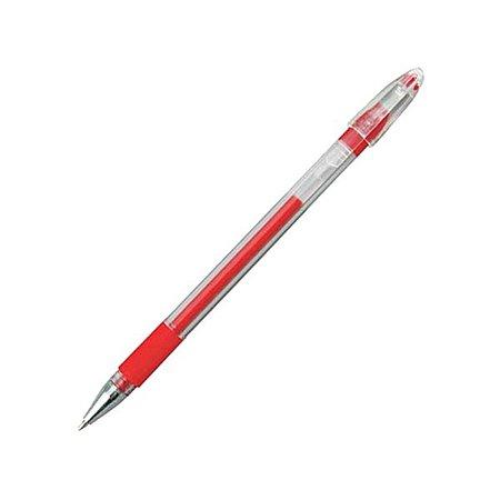 Ручка гелевая Proff 0.5 мм красная