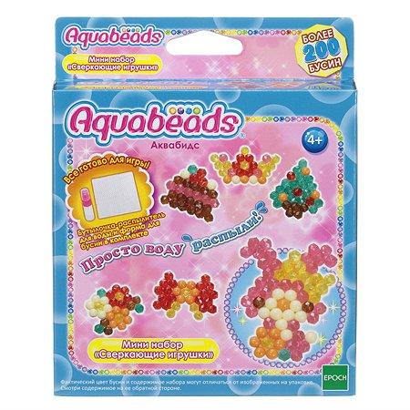 Мини-набор для творчетсва Aquabeads Сверкающие игрушки