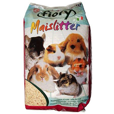 Наполнитель для грызунов Fiory Maislitter Profumato кукурузный дикие ягоды 5л