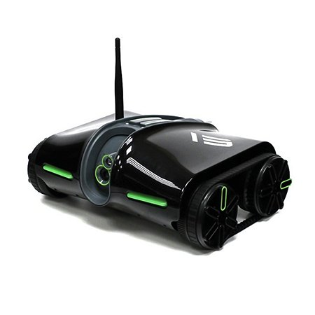 Танк на Wi-Fi управлении 1TOY Brookstone Rover Spy Tank 2 iOS Android