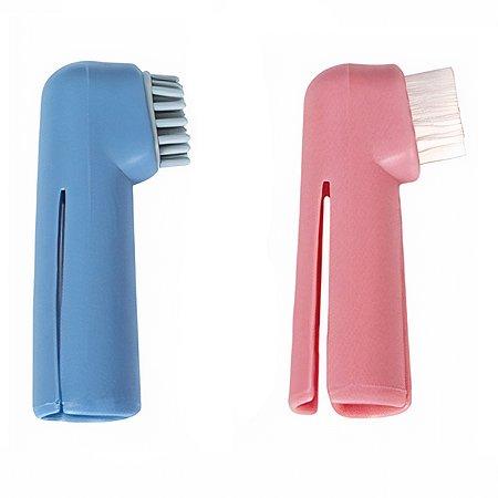 Набор зубных щеток для собак Triol напальчники 2шт 30511001