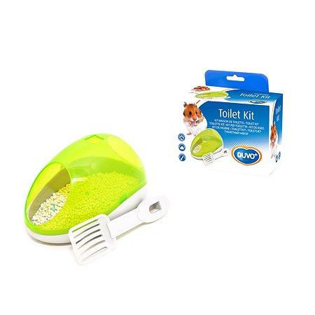 Туалет для мелких грызунов DUVO+ Potty Kit