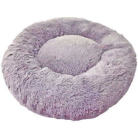 Лежак для собак и кошек Зоогурман Пушистый сон Серый 100 см