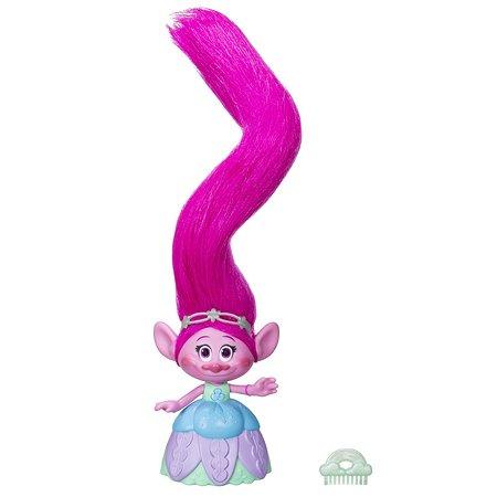 4a891dd18d0a Игровой набор TROLLS Поппи с супер длинными поднимающимися волосами