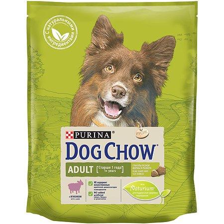 Корм для собак Dog Chow с ягненком 800г 60048