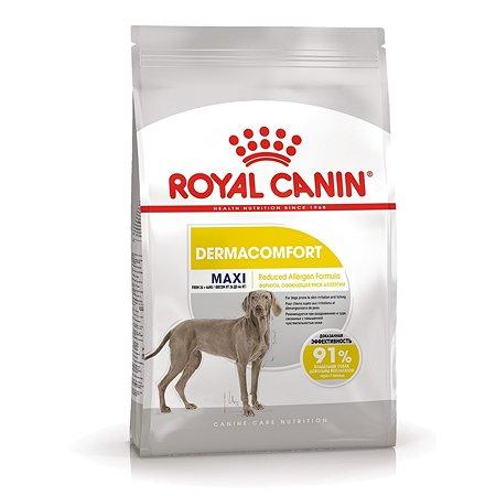 Корм для собак ROYAL CANIN Maxi Dermacomfort крупных пород склонных к кожным раздражениям и зуду 10кг
