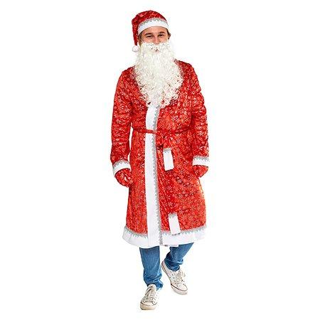 Костюм карнавальный EVERGREAT Дед Мороз 180см SC19103A