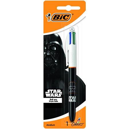Ручка BIC 4 Цвета Star wars