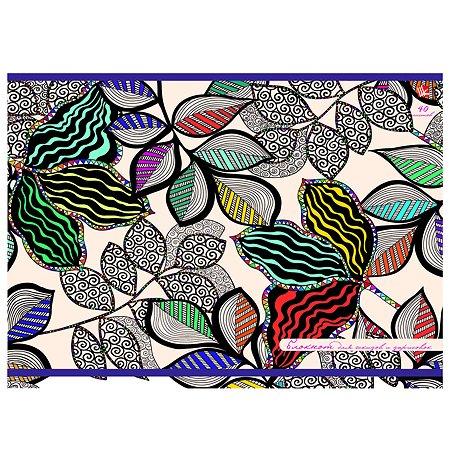 Блокнот Unnika land Волшебные листья орнамент 40л