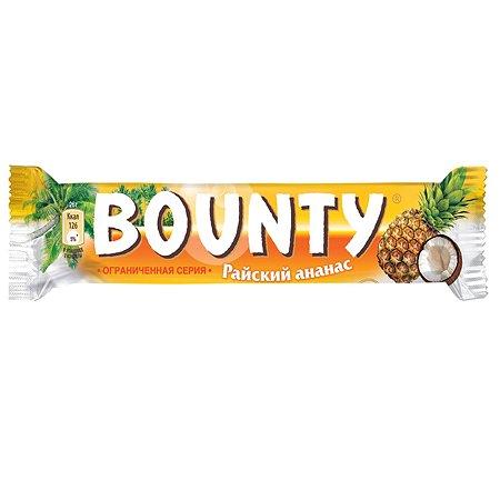 Батончик шоколадный BOUNTY Райский ананас 52г