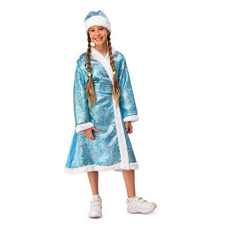 Костюм карнавальный EVERGREAT Снегурочка взрослый 170см DM1901A