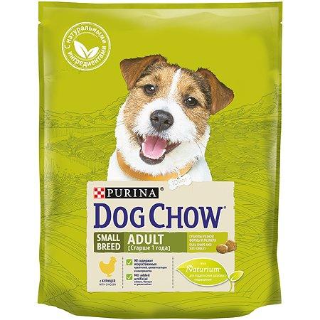 Корм для собак Dog Chow мелких пород с курицей 800г