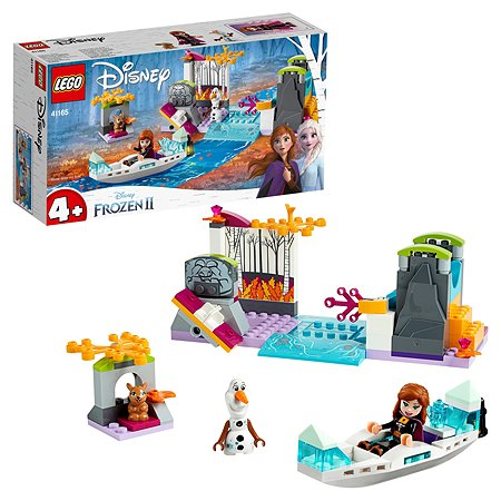 Конструктор LEGO Disney Frozen Экспедиция Анны на каноэ 41165