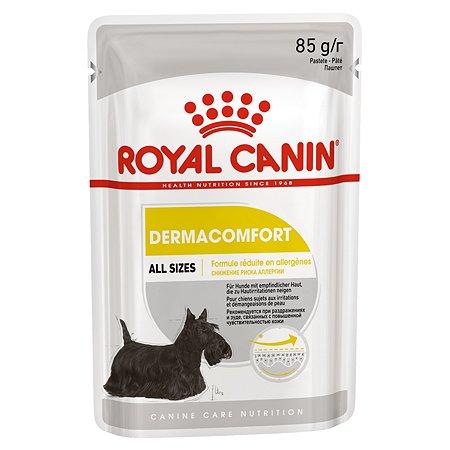 Корм для собак ROYAL CANIN Dermacomfort с чувствительной кожей склонной к раздражениям и зуду пауч 85г